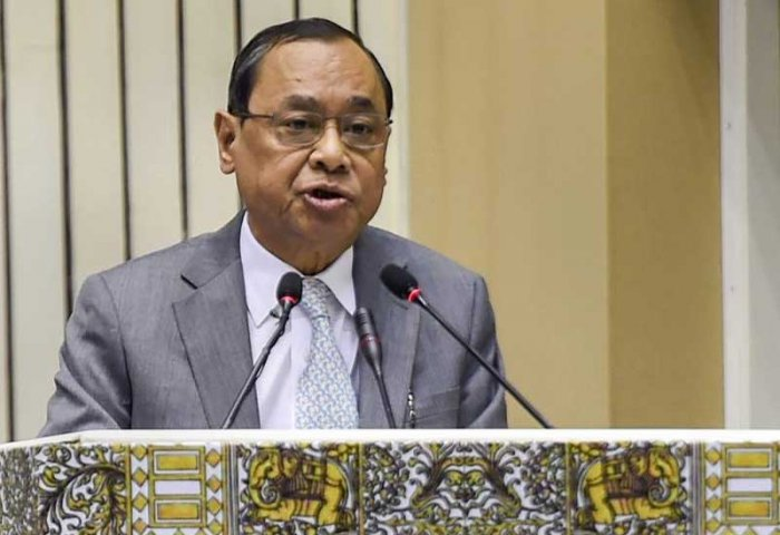 The Vishwa Hindu Parishad appealed to the Chief Justice of India Rajan Gogoi to complete the hearing in the mattersoon.