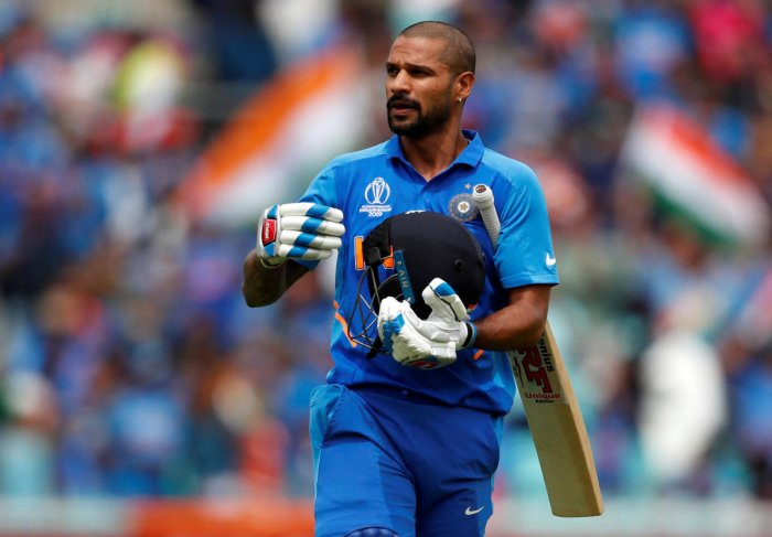 Sachin Tendulkar expects Shikhar Dhawan to bounce back strongly from the injury setback that has forced him out of the World Cup. (Reuters Photo)