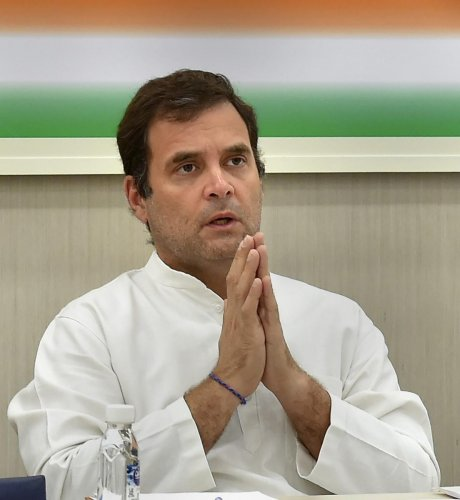 Congress President Rahul Gandhi. (PTI file photo)