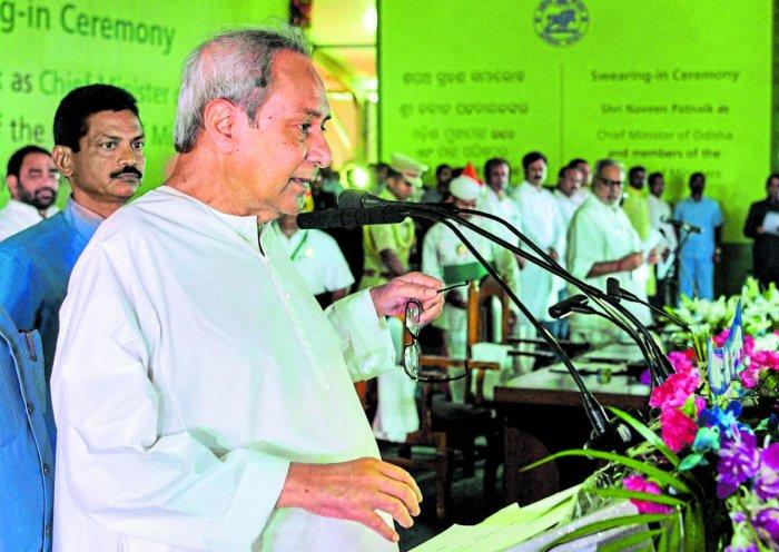 Janata Dal (BJD) President Naveen Patnaik (PTI File Photo)