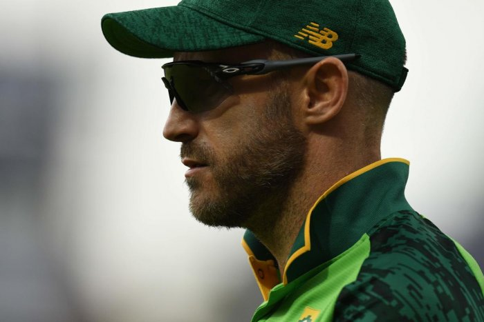 South Africa's captain Faf du Plessis. (AFP)