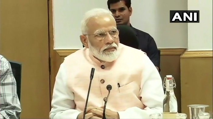 Prime Minister Narendra Modi (Image courtesy ANI/Twitter)