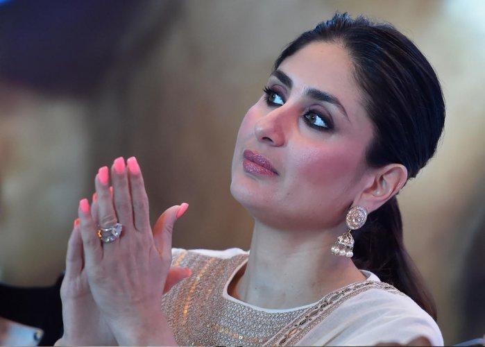 Bollywood actress Kareena Kapoor Khan. (PTI File Photo)