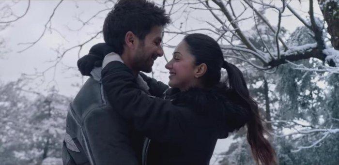 A still from the film 'Kabir Singh'.