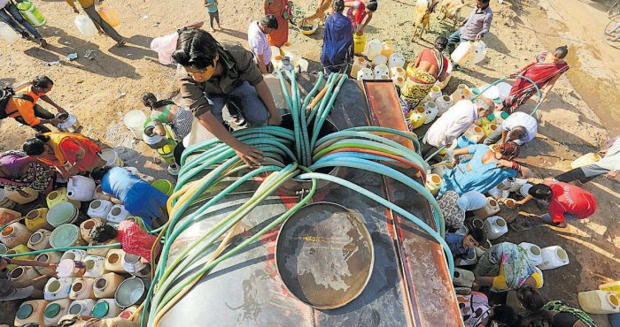 Wake up, there's no water! | Deccan Herald