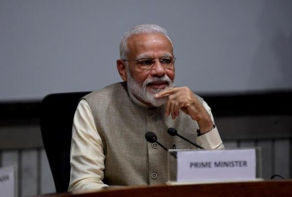 PM Narendra Modi at an all-party meeting in New Delhi on June 19, 2019 to explore the possibility of simultaneous elections. Photo: Money Sharma/ AFP