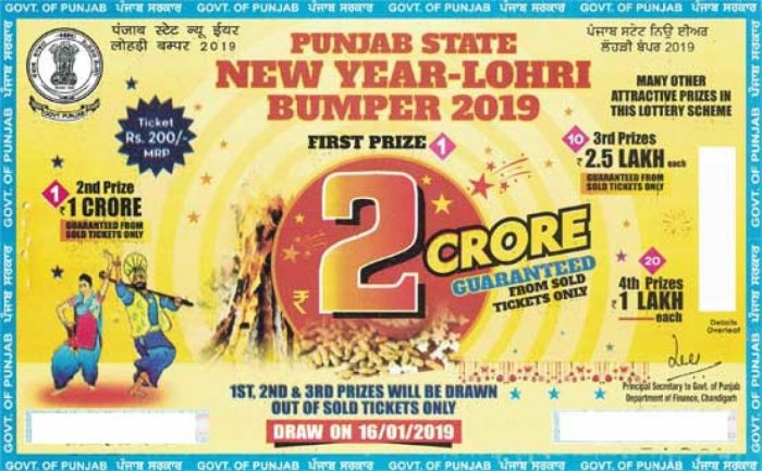 Punjab Constable hits 2 crore lottery jackpot | Deccan Herald