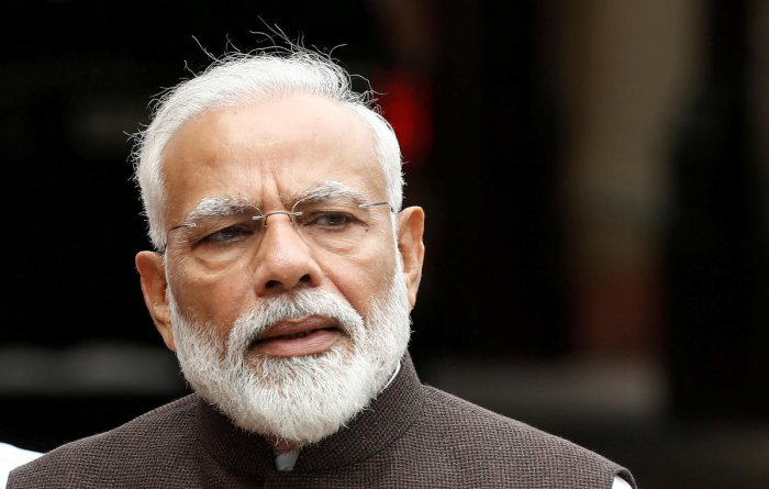 Prime Minister Narendra Modi stressed on the need to move together to fulfill the dream of a strong, safe, developed and inclusive nation. (Reuters Photo)