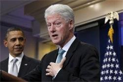 Bill Clinton endorses tax plan after Obama meeting