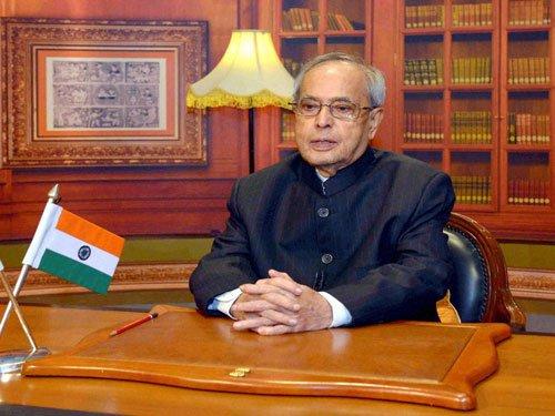Pranab bats for GST, key reform bills
