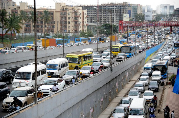 Metro work could worsen traffic congestion on ORR   Deccan