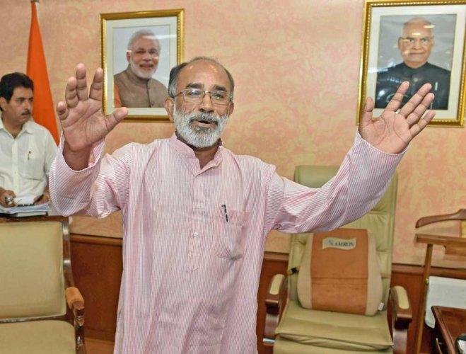 BJP leader K J Alphons. (PTI file photo)
