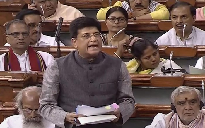 In reply to a question in Lok Sabha, Railway Minister Piyush Goyal said that in 2018-19, 1,477 Road Over Bridges (ROBs) and Road Under Bridges (RUBs) were constructed across the Railway network. (PTI Photo)