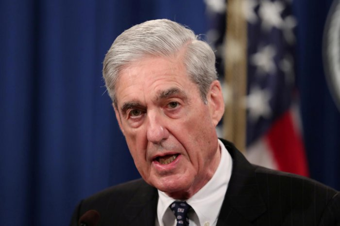 FILE PHOTO: U.S. Special Counsel Robert Mueller makes a statement on his investigation into Russian interference in the 2016 U.S. presidential election at the Justice Department in Washington, U.S., May 29, 2019. REUTERS/Jim Bourg/File Photo