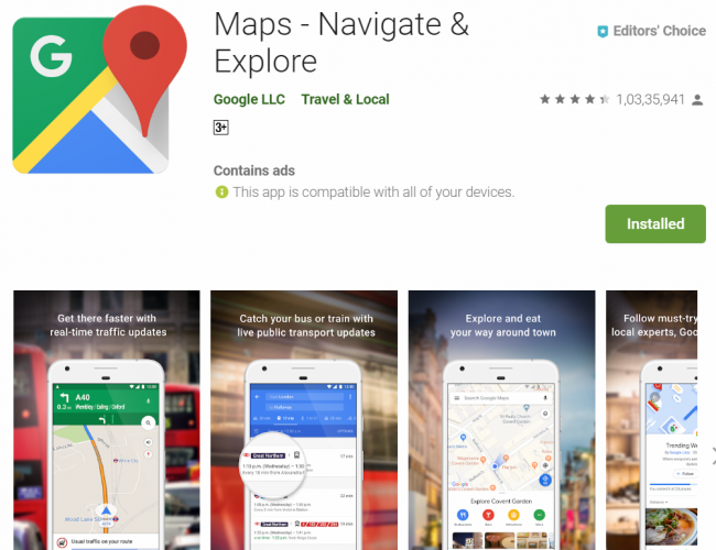 Google Maps gets 'Stay Safer' feature in India | Deccan Herald on get google street view, get games, get instagram, get home,