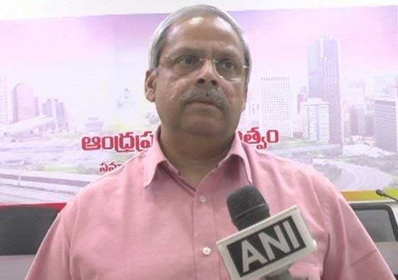 """Stung by Opposition YSR Congress Party's """"slanderous campaign"""" against him, Parakala Prabhakar, husband of Defence Minister Nirmala Sitharaman resigned from the post of communication adviser of the Andhra Pradesh government on Tuesday. ANI photo"""