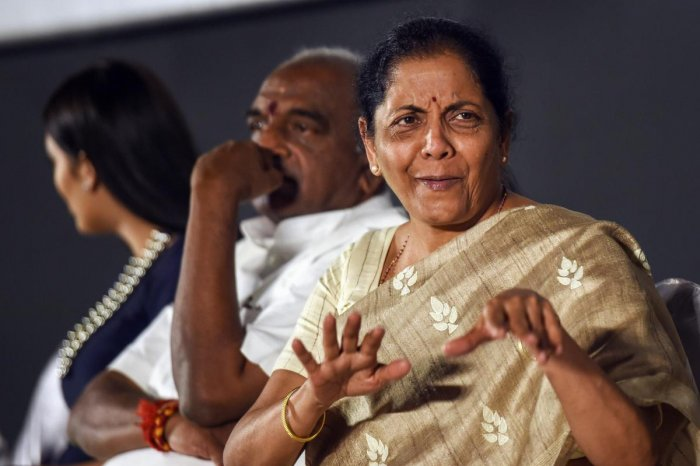 Defence Minister Nirmala Sitharaman on Sunday hit back at Congress President Rahul Gandhi after he accused her of lying in Parliament about procurement orders worth Rs 1 lakh crore for state-run aerospace major Hindustan Aeronautics Limited (HAL). PTI pho
