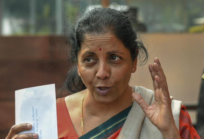 """Defence Minister Nirmala Sitharaman on Friday dismissed the media report on the Rafale jet deal as """"flogging a dead horse"""" and accused the opposition of playing into the hands of multinational companies and vested interests. PTI file photo"""