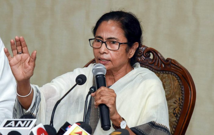 However, West Bengal Chief Minister Mamata Banerjee said that the circular was worded in such a manner in order to utilise the funds from the Minority Welfare Department for the scheme in schools that have moreminority community students. (PTI File Photo)