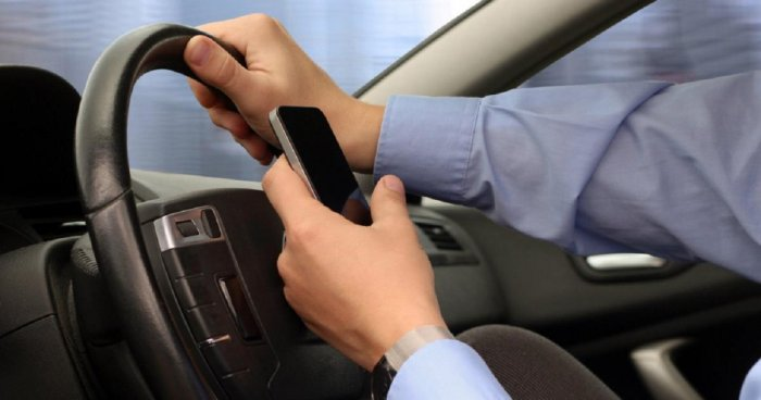 Using a mobile phone while driving will attract a fine of Rs 1,000 for the first offence and Rs 2,000 subsequently.