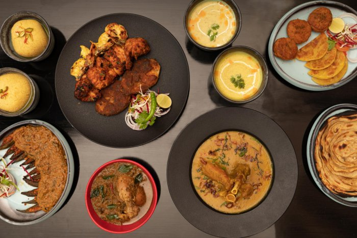 From royal khansamas to frugal delights of city streets, the new menu offers a wide range of delicacies.