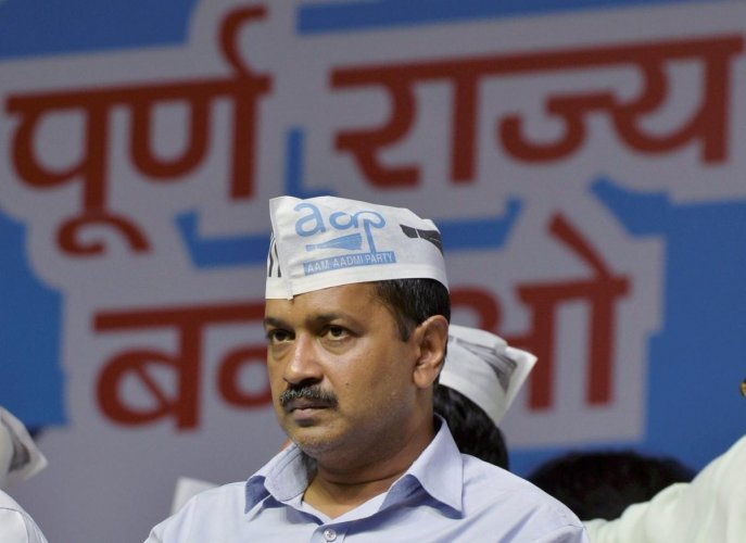 The AAP believes that it would return to power on the basis of its work in the capital in sectors like power, water, health and education. (PTI File Photo)