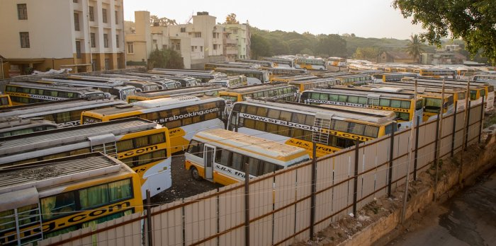 An association of transport operators has asked the Centre and the states to give top priority to bus transport and create an environment that will make it easy to conduct business and will attract investments, according to a Business Line report. (DH Photo)