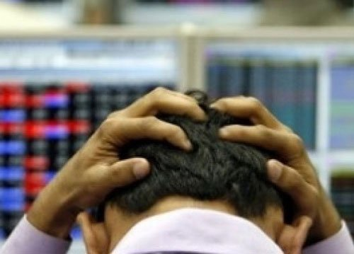 Sensex tumbles 383 points after RBI hikes interest rate