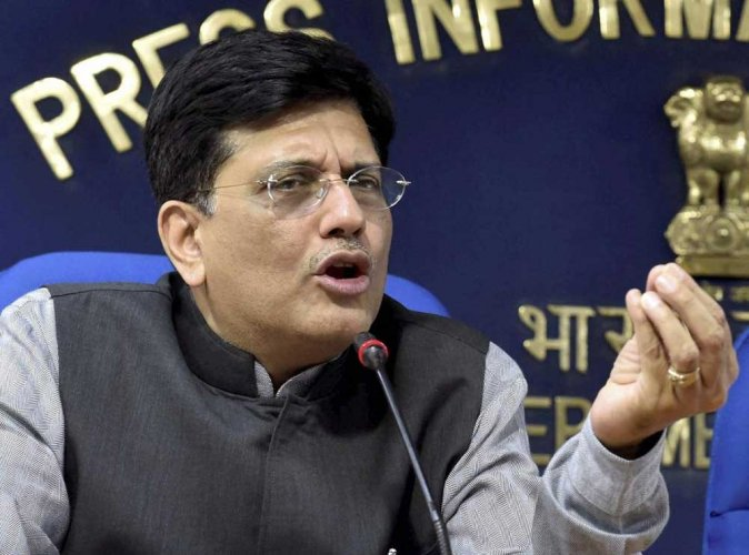 In a major Cabinet reshuffle late Monday evening, Railway and Coal Minister Piyush Goyal was given additional charge of the Finance Ministry until incumbent Arun Jaitley recovers from a Kidney transplant surgery. PTI file photo