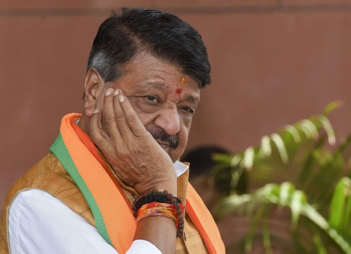 "Kailash Vijayvargiya said both his son and the civic administration were ""novice players"" and that the dispute could have been avoided. (PTI File Photo)"