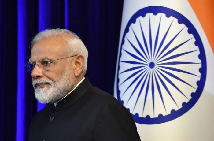 PM Narendra Modi is likely to visit Bhutan in the next few weeks to inaugurate a satellite tracking centre India is building there in response to an advanced facility that China built in the Tibet Autonomous Region. AFP FILE