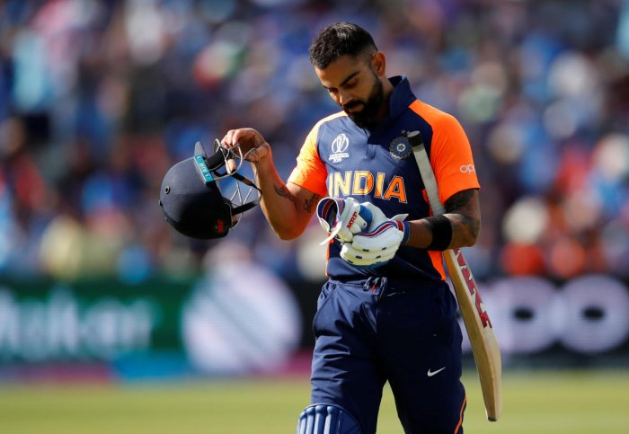 """""""England bowled superbly,"""" said Virat Kohli while admitting that they were not clinical with the bat in the 300-plus run chase against England in a World Cup match. (Reuters Photo)"""