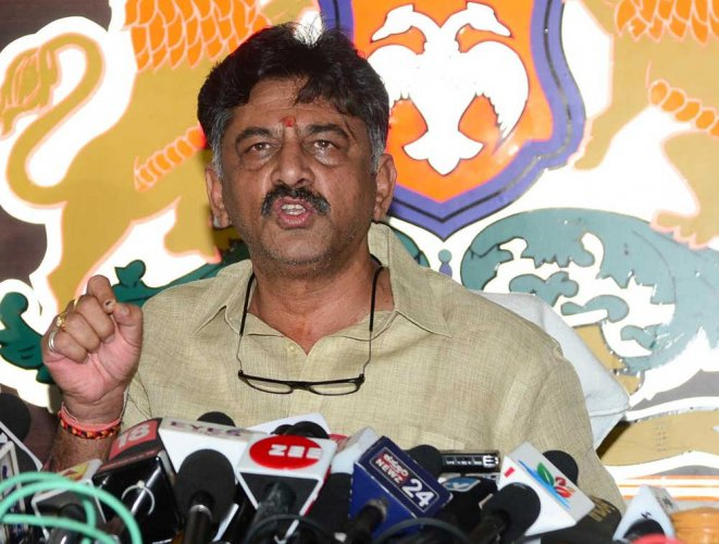 """Water Resources Minister DK Shivakumar, the Congress' Man Friday, said Tuesday there was no need to panic. """"This government will complete its full term,"""" he said. """"It's not that we don't know the games being played."""""""