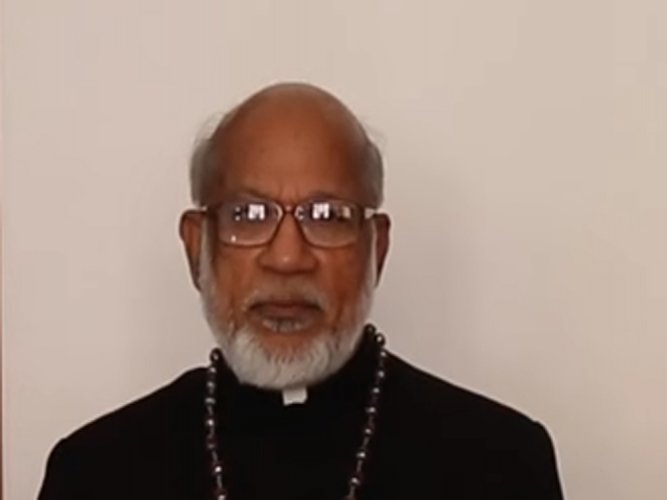 Cardinal George Allencherry. (Video grab)