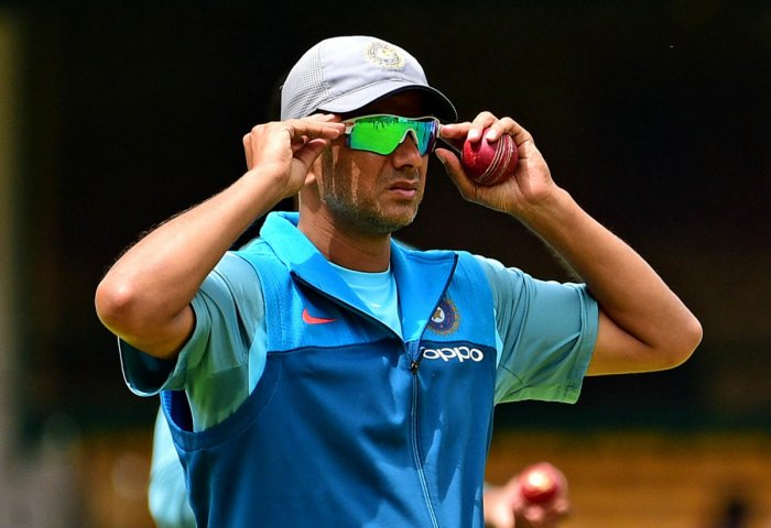 Dravid is also a paid employee of India Cements and as per the BCCI constitution, an individual can't hold multiple positions at the same time. (DH File Photo)