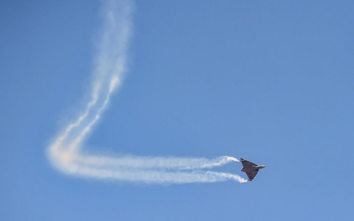 File photo of a Tejas aircraft