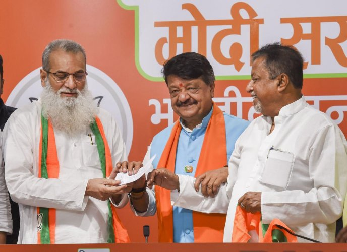 The latest case is that of controversial TMC MLA Manirul Islam joining BJP. The discontent against Islam's induction reached such an extent that he offered to resign.
