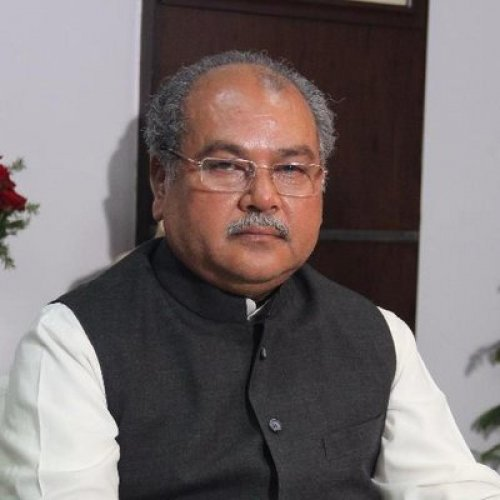 Agriculture and Farmers Welfare Minister Narendra Singh Tomar. File photo