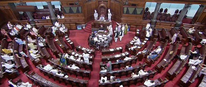 The short duration discussion on the need for electoral reforms in the country came following a notice by 12 Opposition parties, including Congress, Trinamool Congress, Left parties, SP and BSP among others. PDP and nominated MP KTS Tulsi also gave separa