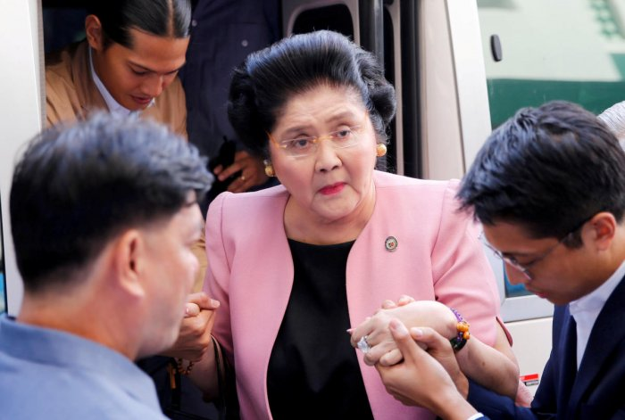 Former Philippine First Lady Imelda Marcos. Reuters file photo