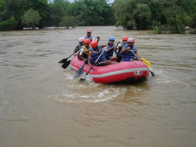 Rafting in River Cauvery in Kodagu district was banned following an untoward incident.