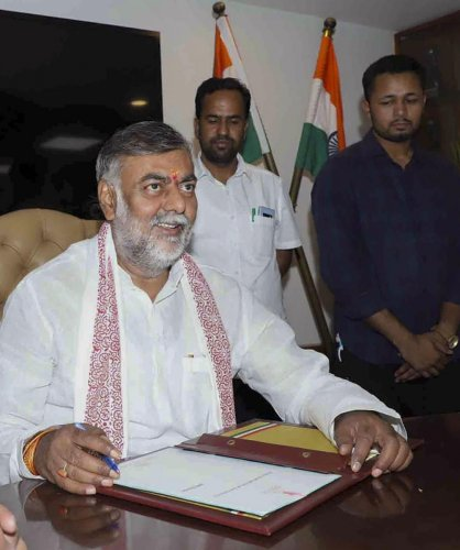 Tourism Minister Prahlad Patel had a meeting with officials of Twitter earlier this week and requested them to create a dedicated mechanism. (PTI File Photo)