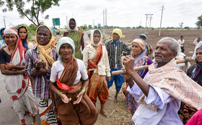 Modi 2.0 needs new modified MNREGA type schemes to boost the Rural economy and pump up the consumption as earliest as possible (DH Photo)