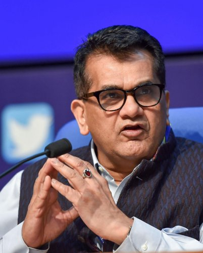 NITI Aayog CEO Amitabh Kant said that public sector disinvestment will greatly benefit the Government. (PTI File Photo)