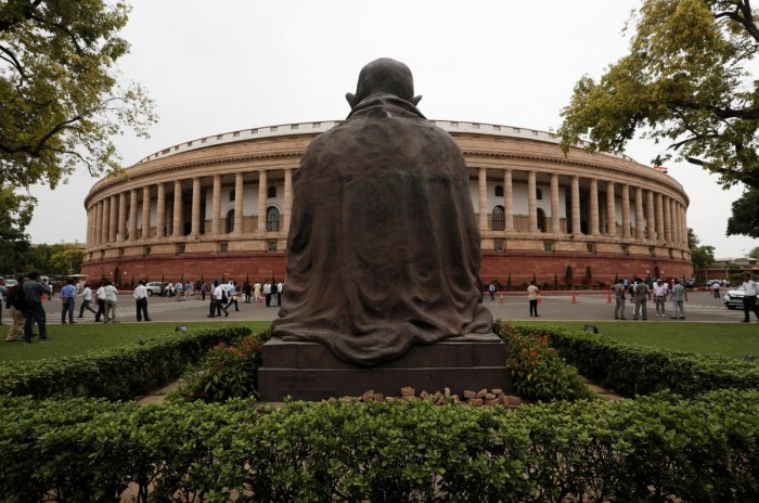 A file photo of the Indian parliament. Photo credit: Reuters