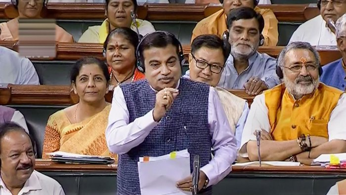 Union Minister Nitin Gadkari on Thursday said in the Lok Sabha that sugar mills should now focus on manufacturing ethanol instead of producing the sweetener. (PTI Photo)