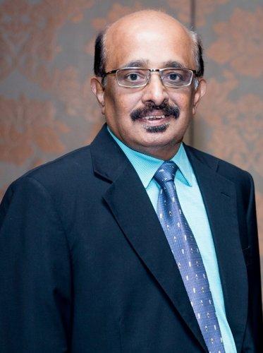 Mr. R. K. Gurumurthy, Head Treasury ofLakshmi Vilas Bank