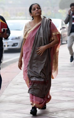 The FinanceMinister Nirmala Sitharaman introduced NSIL, a new commercial arm of Department of Space in her maiden Budget speech. (AFP)