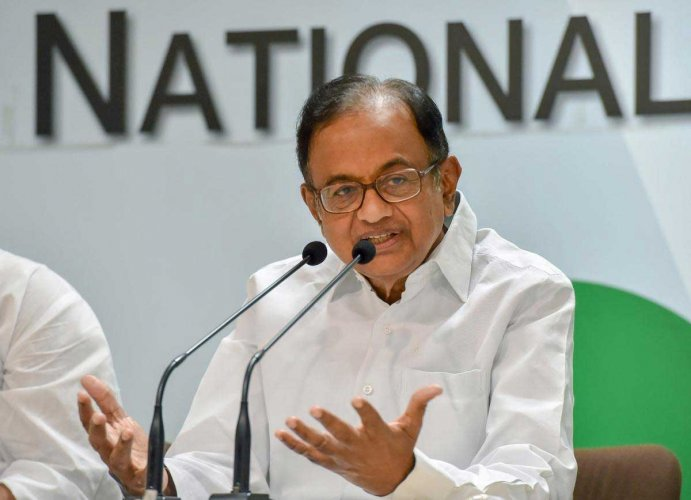 """Terming the budget """"insipid"""", Chidambaram said that belying widespread expectations, the finance minister has given no meaningful relief to any section of society. PTI file photo"""