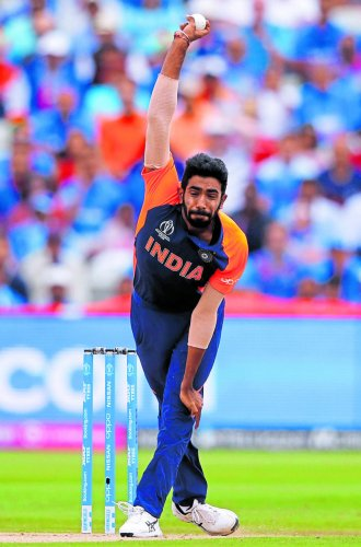 Jasprit Bumrah has been Indian skipper Virat Kohli's primary option at the death, thanks to his exceptional yorker bowling skills. (Reuters Photo)